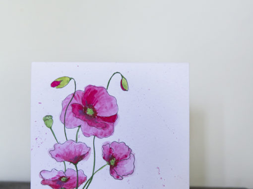 Maki – kartka urodzinowa