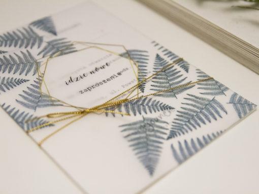Zaproszenia okolicznościowe – leśne