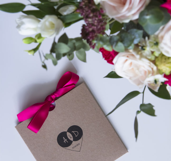 Zaproszenia ślubne, winietki A+D