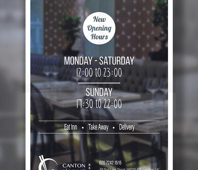 Canton Element – materiały reklamowe